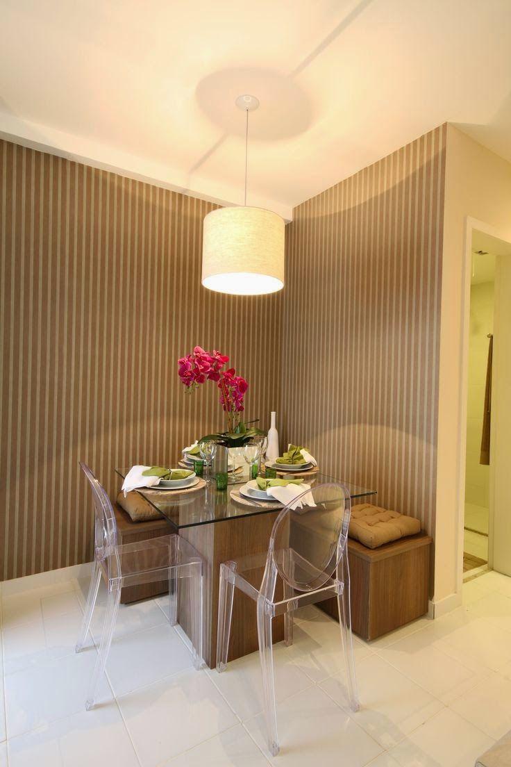 20 Salas de jantar pequenas!! | Mesas, Comedores y Sala de estar