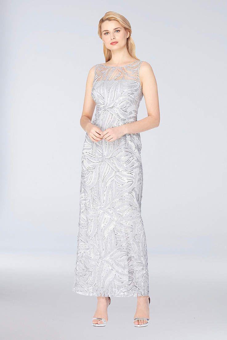 Long Sheath Tank Formal Dresses Dress Tahari Asl Bride Groom Dress Dresses Groom Dress [ 1106 x 737 Pixel ]