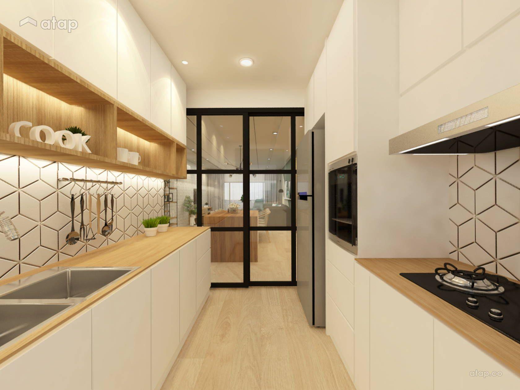 Modern Scandinavian Kitchen condominium design ideas & photos ...