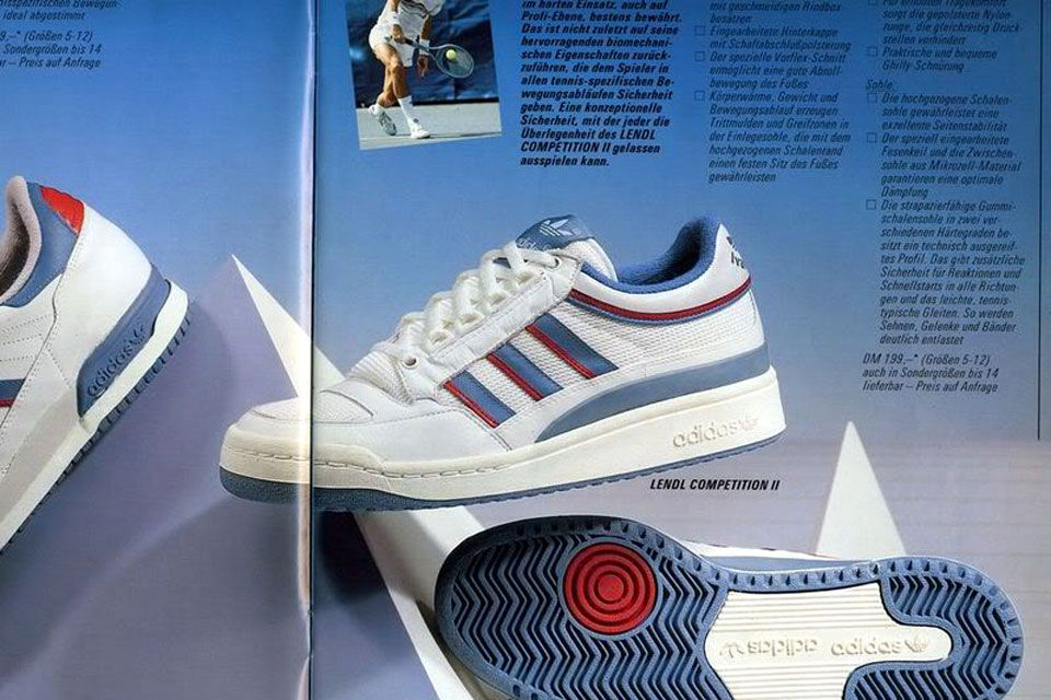 promo code 06df7 ec354 lendl-competition-2 Adidas Vintage, Classic Sneakers, Tennis Sneakers,  Adidas Sneakers