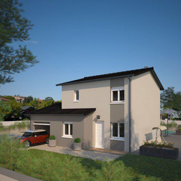 Plano de casa francesa de 4 dormitorios y 130 metros for Dormitorio 15 metros cuadrados