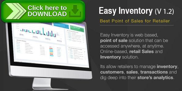 Free nulled Easy Inventory download