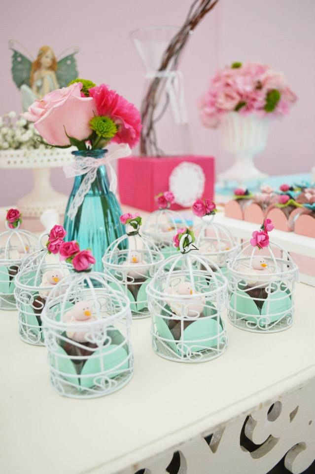 Enchanted Garden Party Bird Theme babyshowerideas Baby shower