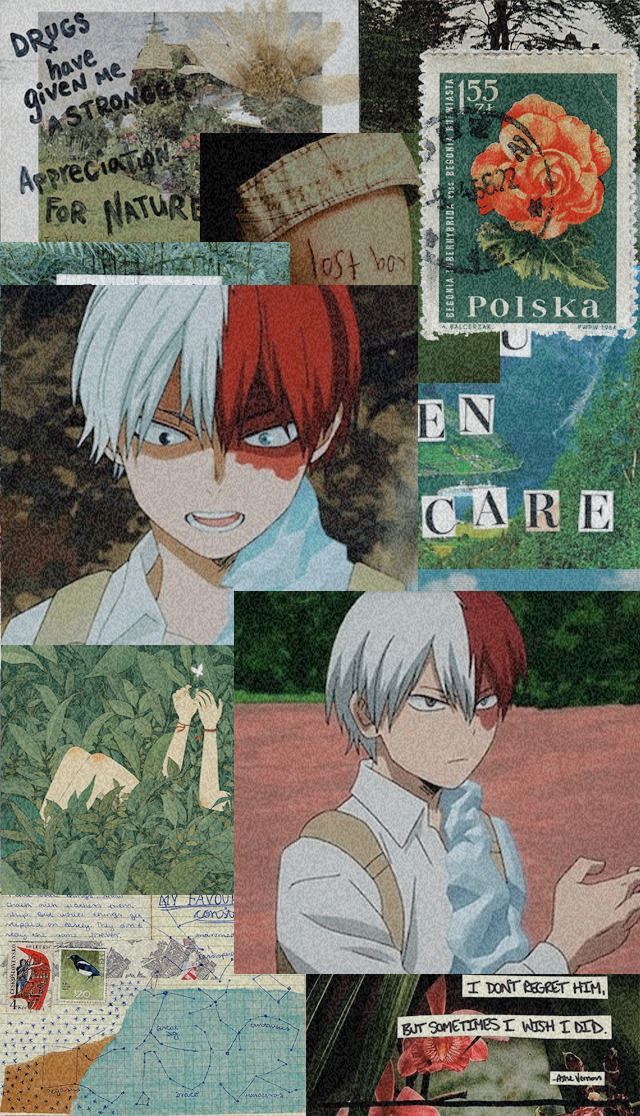 Shouto Todoroki Wallpaper Tumblr Hero Wallpaper