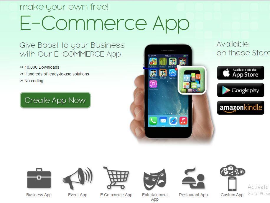 Listing status event app free app builder free