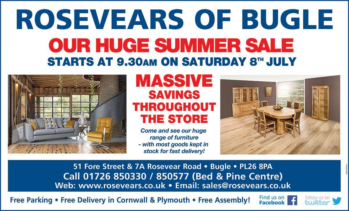 summer furniture sale. Visit Rosevears Of Bugle For Our Huge Genuine Summer Furniture Sale In Cornwall #sale # I