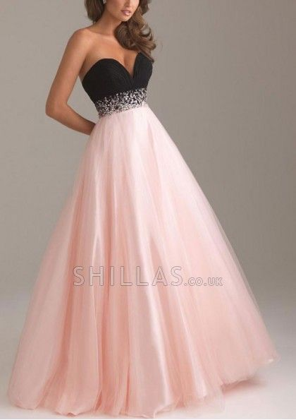 Long Pearl Pink Sweetheart Neckline Ball Gowns Sale UK - 6100014 ...