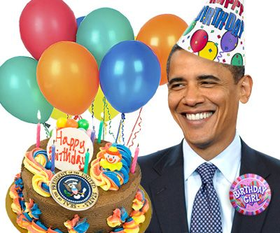 100 year old birthday card from president – Funny Obama Birthday Cards