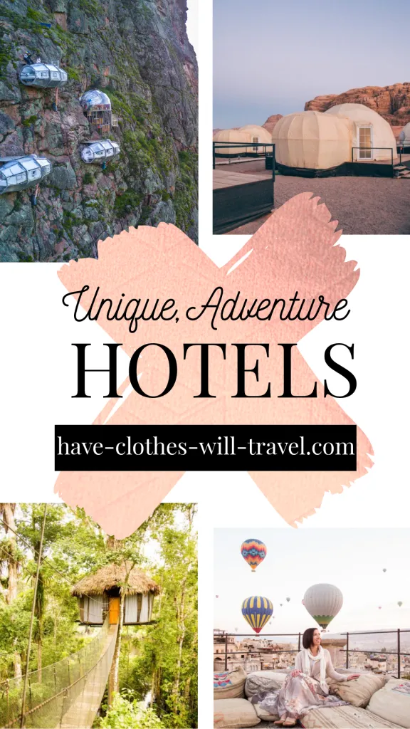 Care to scuba dive to your hotel room? How about zip lining down the side of a cliff after you check out of your room? Or a hotel so remote they actually PAY for you to stay at it? Does it sound like I'm making these things up? I can assure you these are all real and very unique hotels in this list! #hotels #unique #adventure