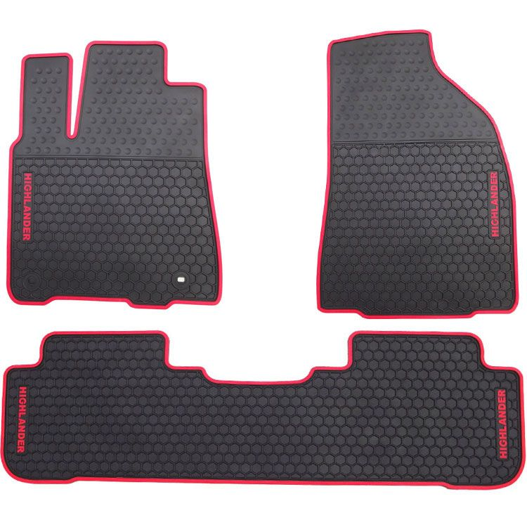 green car floor mats. Waterproof Anti Skip No Odor Green Latex Durable Carpets Special Rubber Car  Floor Mats For Highlander R