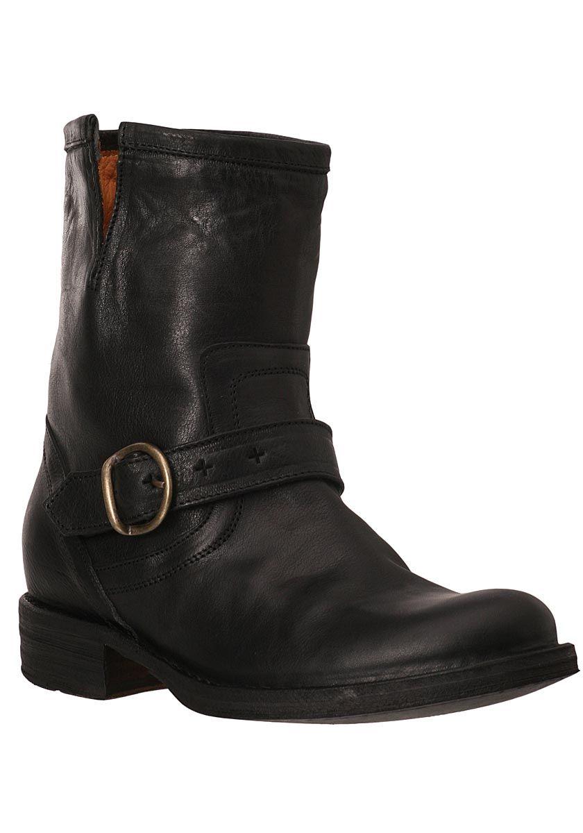 Fiorentini  Baker Eternity Eli Ankle Boot Black Leather  Jildor Shoes  Since 1949