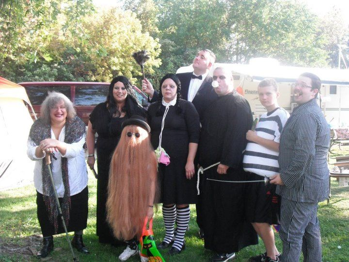 Group Halloween Costume The Addams Family