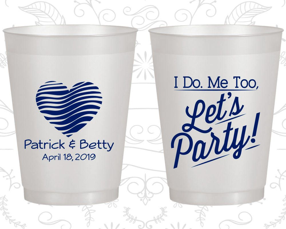 Custom Frosted Cups, Shatterproof Cups, Frost Flex Cups, Frosted Cups, Frosted Plastic Cups, Personalized Frosted Cups (463)