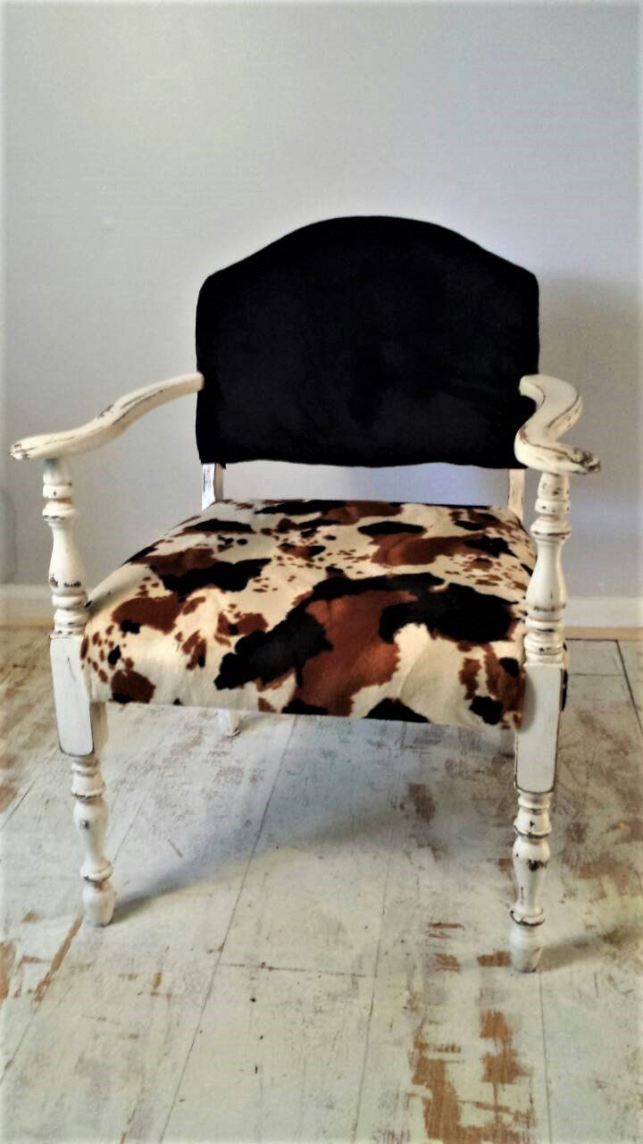 Cool Faux Cowhide Chair Inhicotton In 2019 Cowhide Chair Squirreltailoven Fun Painted Chair Ideas Images Squirreltailovenorg