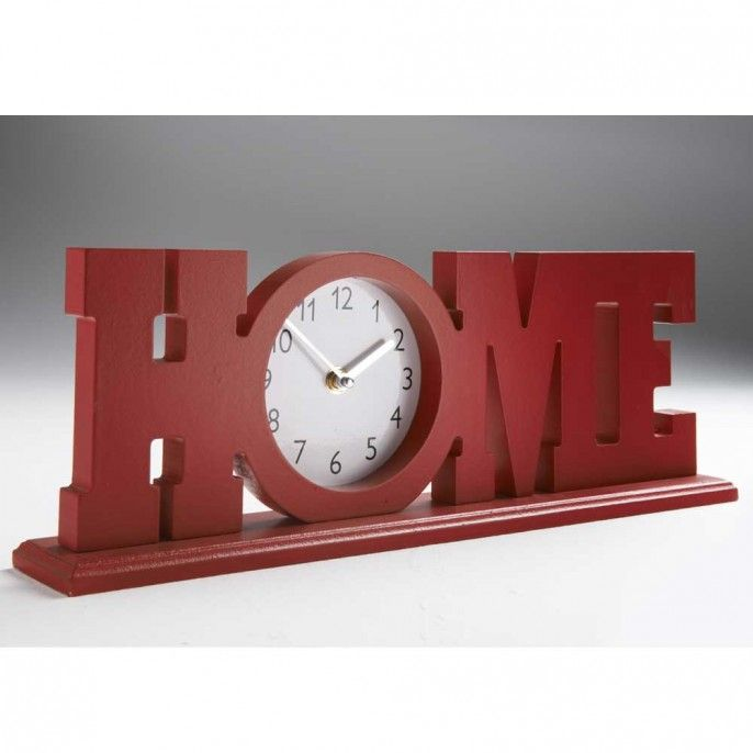 HOME WORD CLOCK - Home & Furniture | Poundstretcher | home | Pinterest