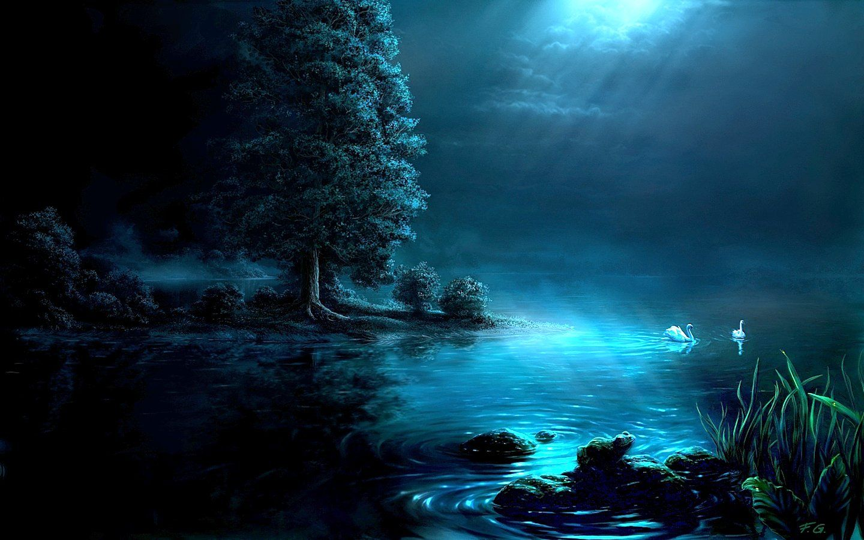 digitale landschaften | Digital Art Paintings : Fantasy Landscape Digital Paintings by Fel-X ...