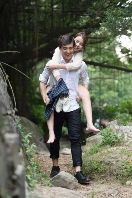 Aaron Yan and Tia Li