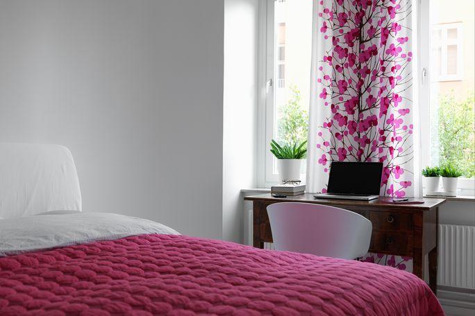 67m² decorados con mucho estilo Curtains Pinterest Bedroom