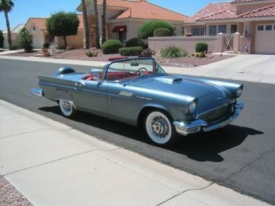 Classic Car Deals >> Used 1957 Ford Thunderbird Convertible Classic Cars For Sale By