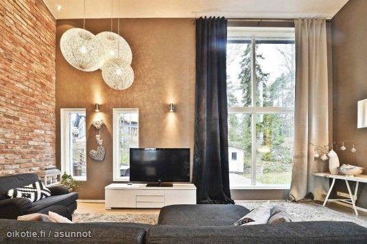 Myytävät asunnot, Tiaisentie 12 Piiksvuori Masku #oikotieasunnot #oikotie #olohuone