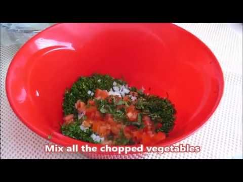 Video how to make tabbouleh arabic food recipes bulgur video how to make tabbouleh arabic food recipes bloglovin forumfinder Images