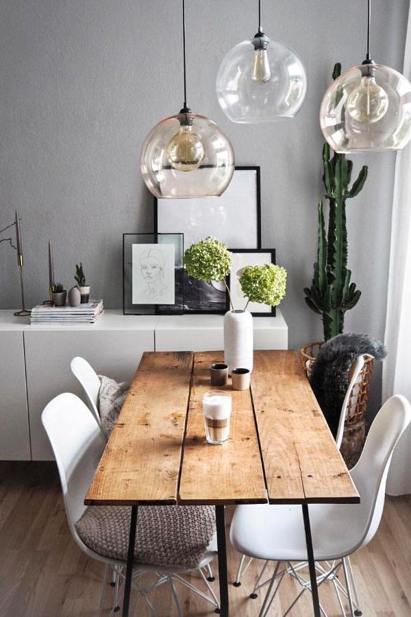 Esstische für jeden Wohnstil #wohnzimmer