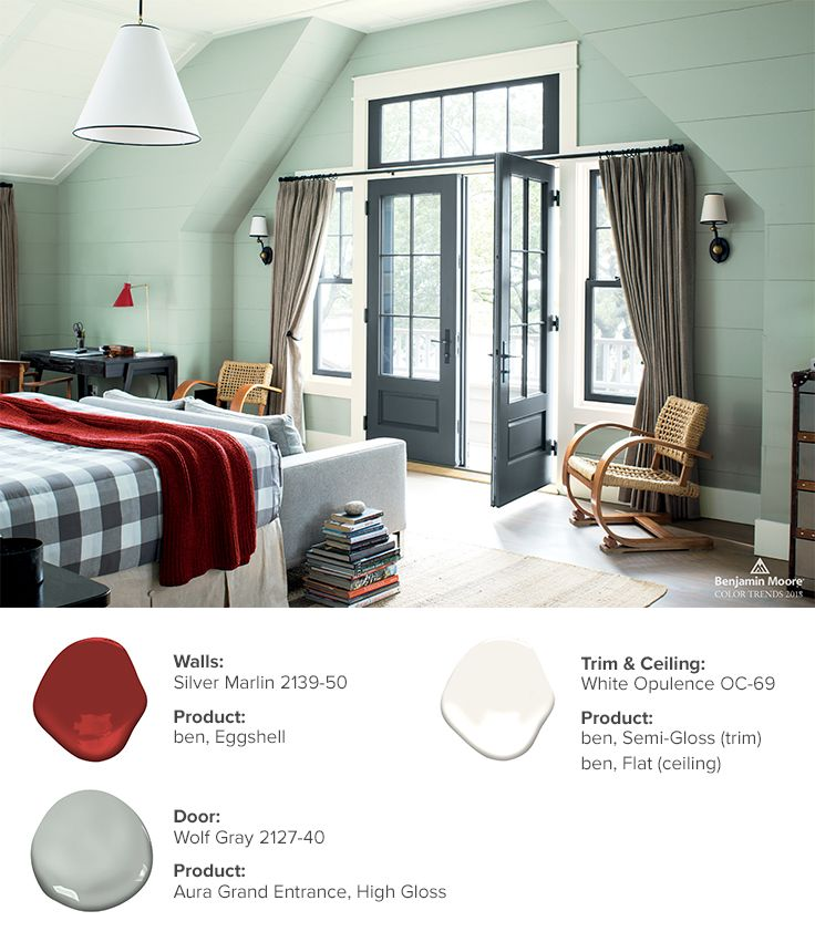 Color trends color of the year 2019 metropolitan af - Benjamin moore aura interior paint ...