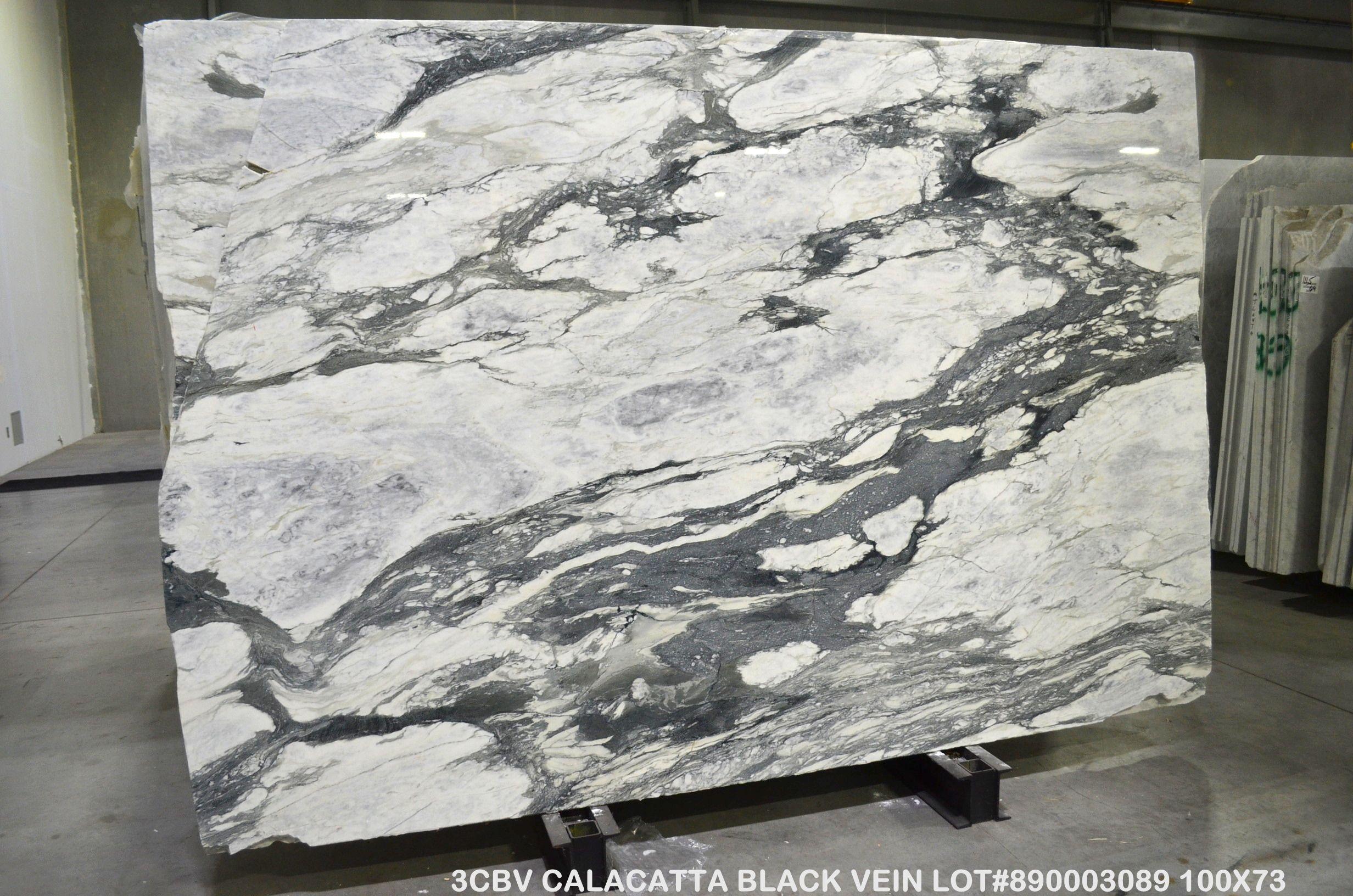 Calacatta Black Vein Marble Levantina Atlanta Black