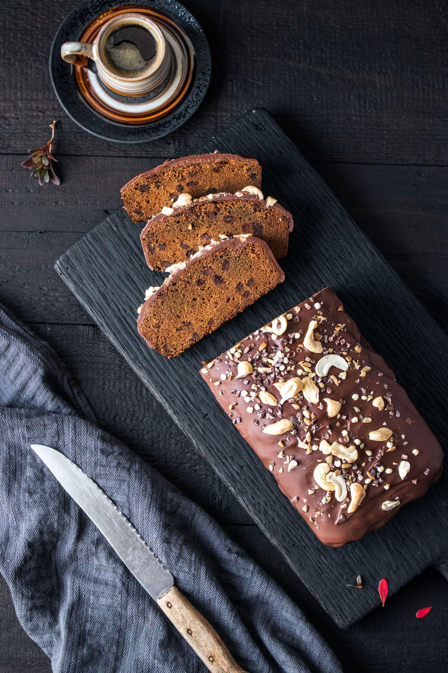 Glutenfreier Und Veganer Kurbis Schoko Kuchen Rezept Meine Blog