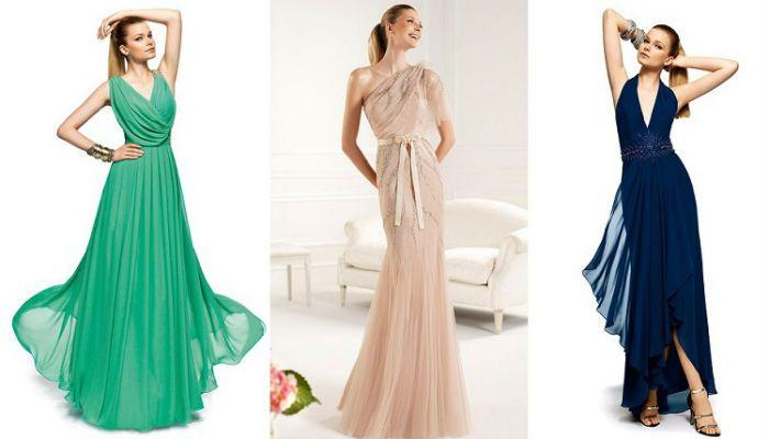 Que vestido usar para boda de noche