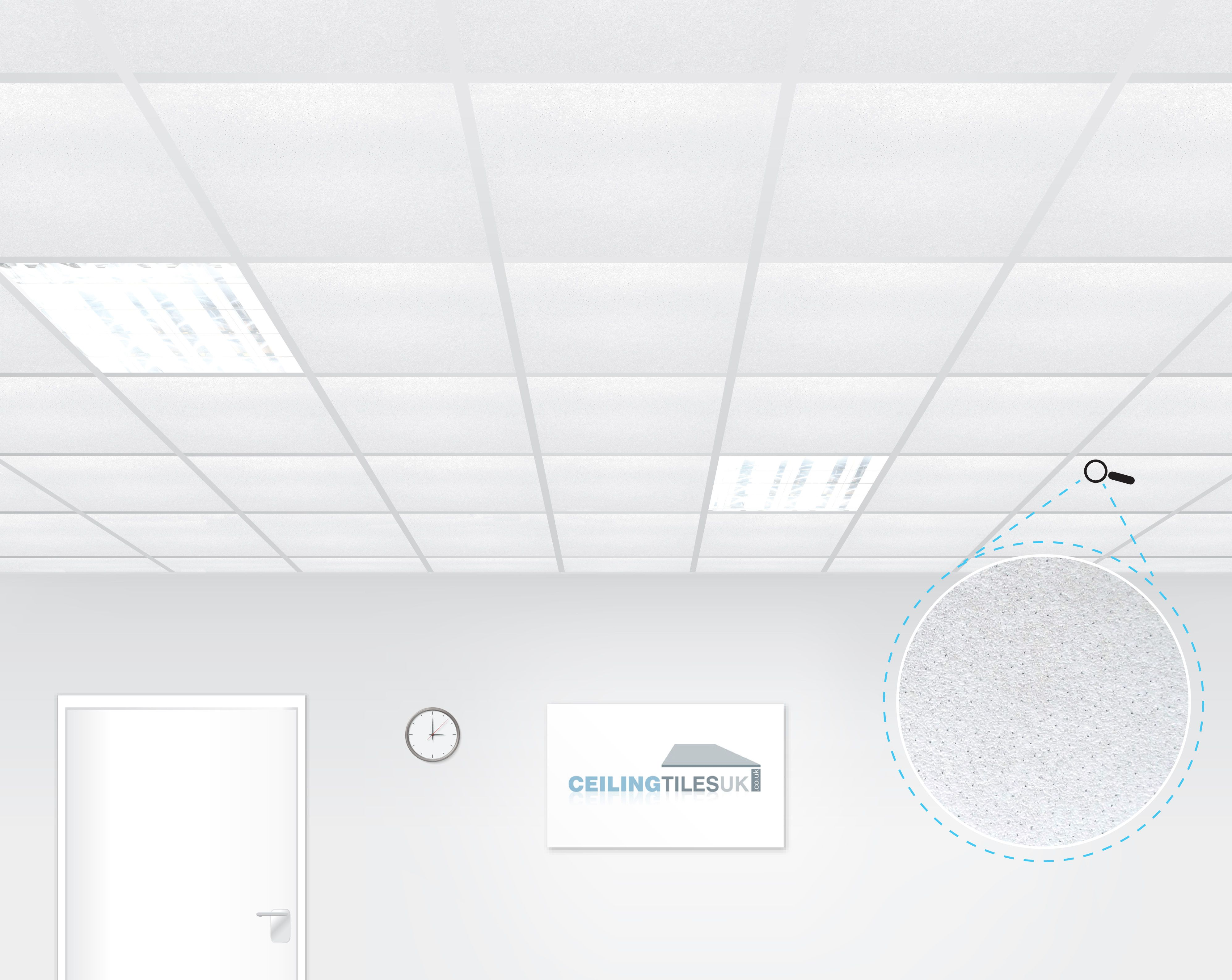 Armstrong Dune Supreme Perf 600x600mm Square Edge Suspended Ceiling