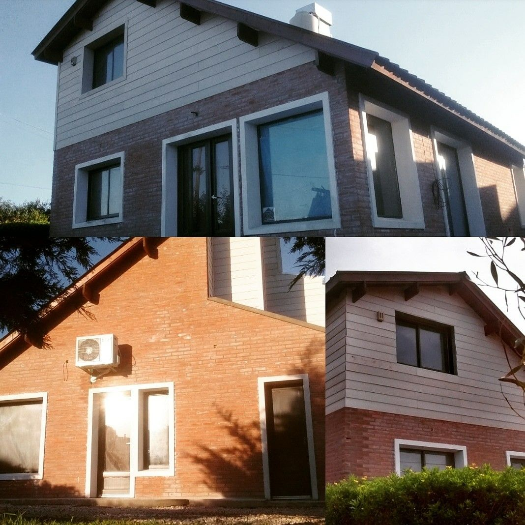 28+ Casas con ladrillo a la vista exterior inspirations
