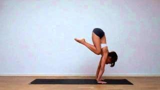 laruga yoga  bakāsana to vrksāsana via youtube  yoga