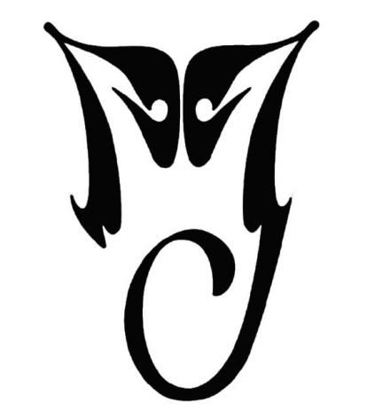 michael jackson logo i have this tattooed largely on my back in between my shoulder blades. Black Bedroom Furniture Sets. Home Design Ideas