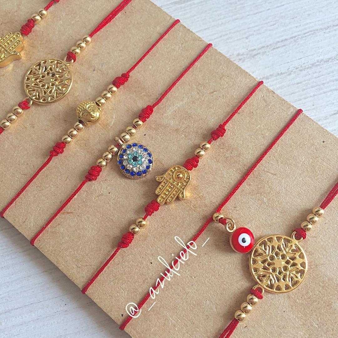 09cdb239f8d3 Por qué es recomendable usar hilitos rojos   El Hilo Rojo se usa para…   handmadejewelrydiy