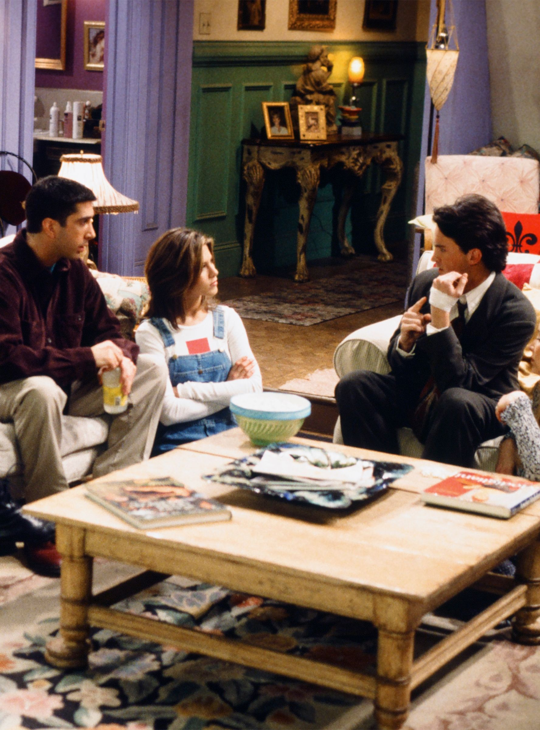 How much would the friends apartment or the stranger