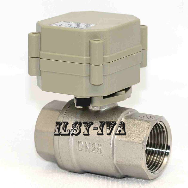 Dn25 Stainless Steel 2 Way Electrical Ball Valve 1 Ac Dc 9 35v Motorized Valve Electric Water Valve Stainless Valve