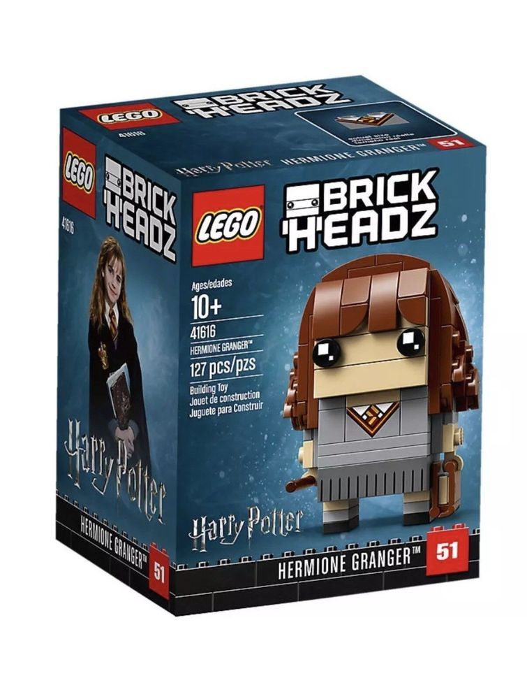 127 Pieces LEGO #41616 LEGO Brick Headz Hermione Granger