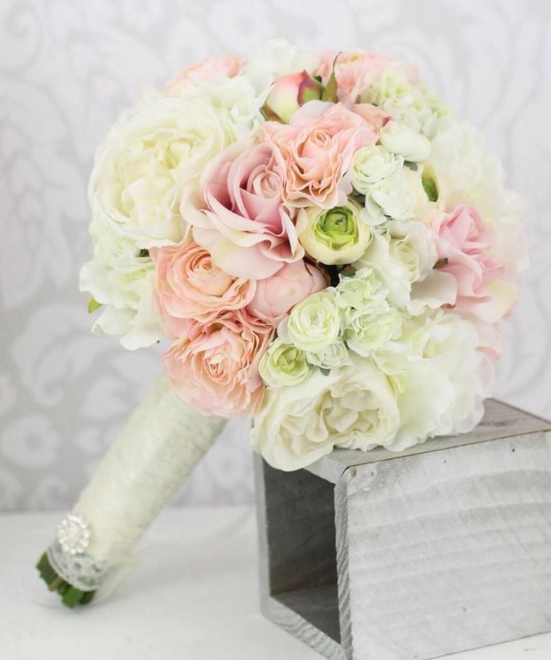 bouquet sposa shabby