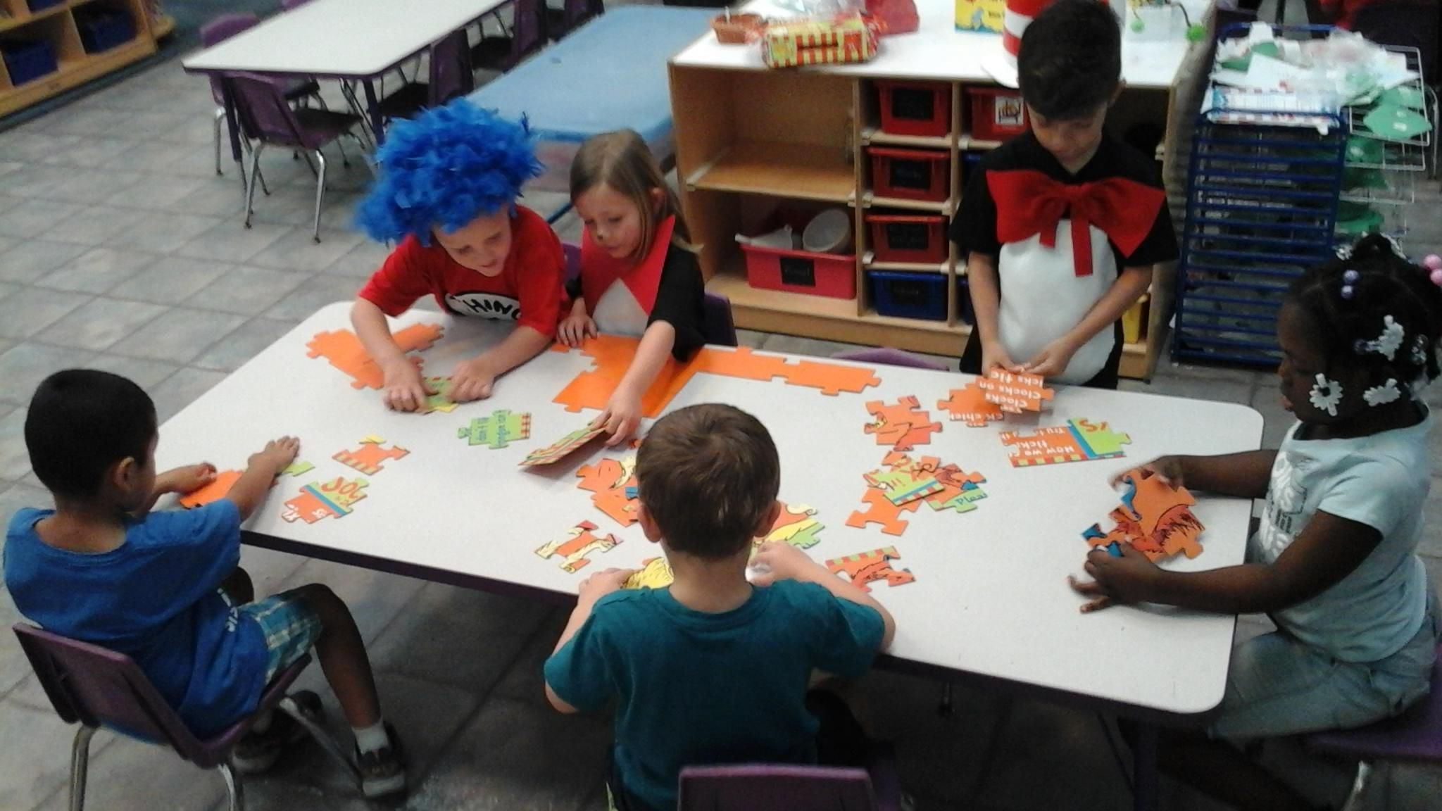 Having Fun With Dr Seuss Puzzles