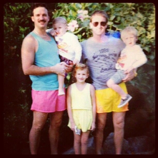 Couplah Dads just killin it in their thigh liberators #chubbinitup @Chubbies Shorts