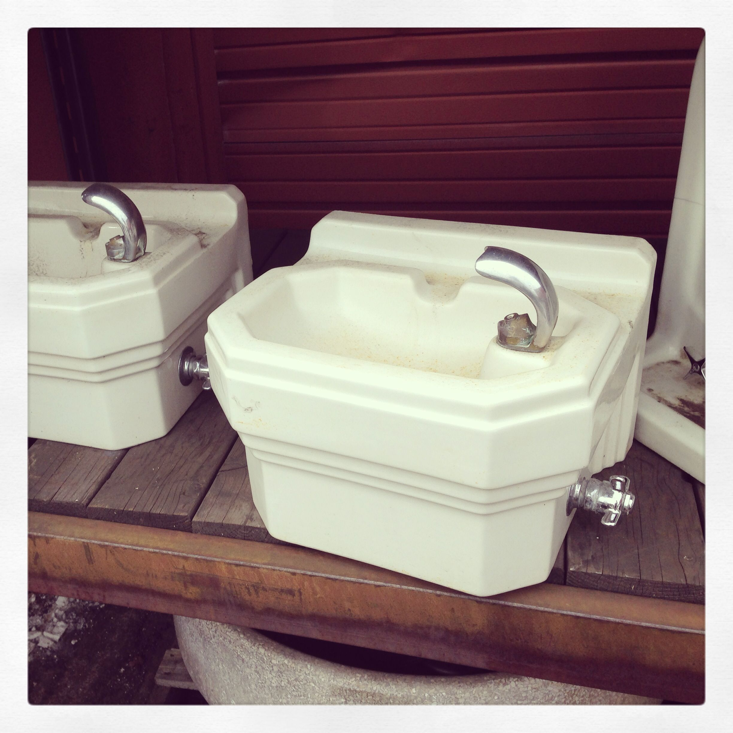 Rejuvenation Pdx Salvage Why Not Incorporate A Drinking Fountain Interesting Bathroom Remodeling Portland Oregon Design Ideas