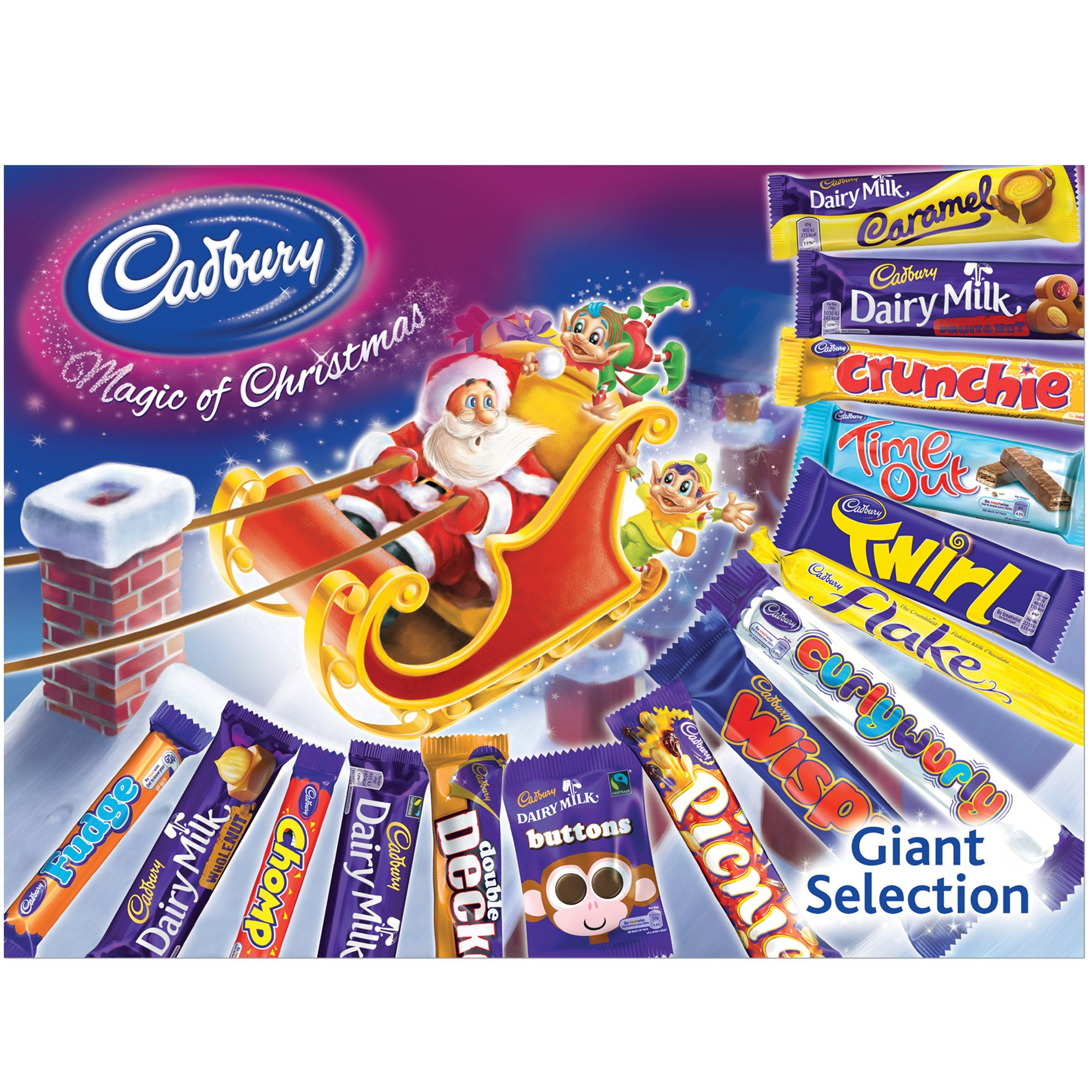 Cadbury Giant Christmas Selection Box Amazon.co.uk