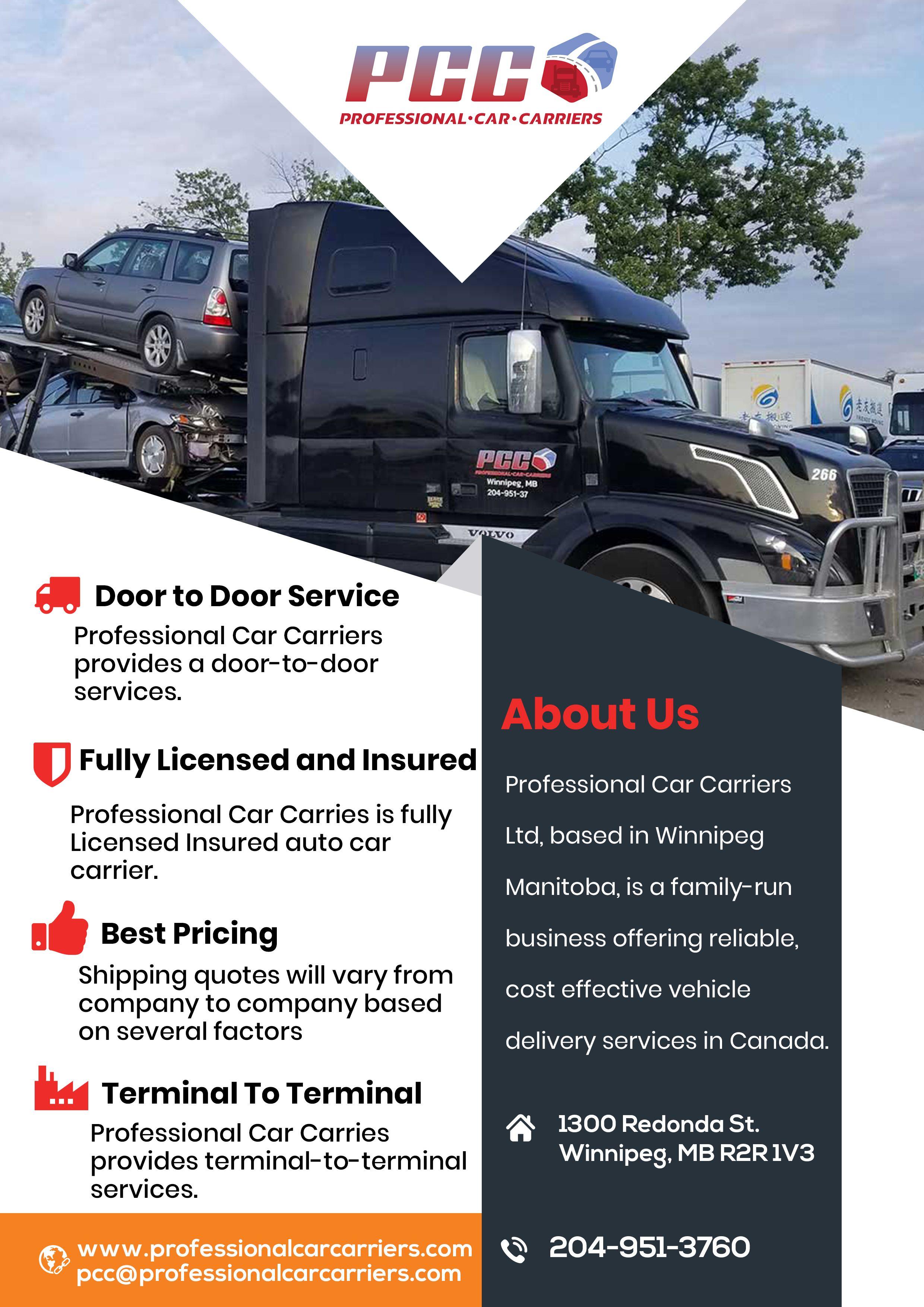 Shipping Your Car Across Canada Car Car Carrier Canada