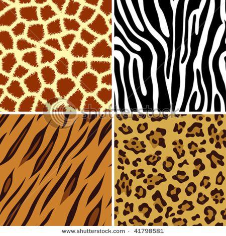 Polyester Fabric Shower Curtain Safari Zebra Tiger Giraffe Cheetah CHOOSE STYLE