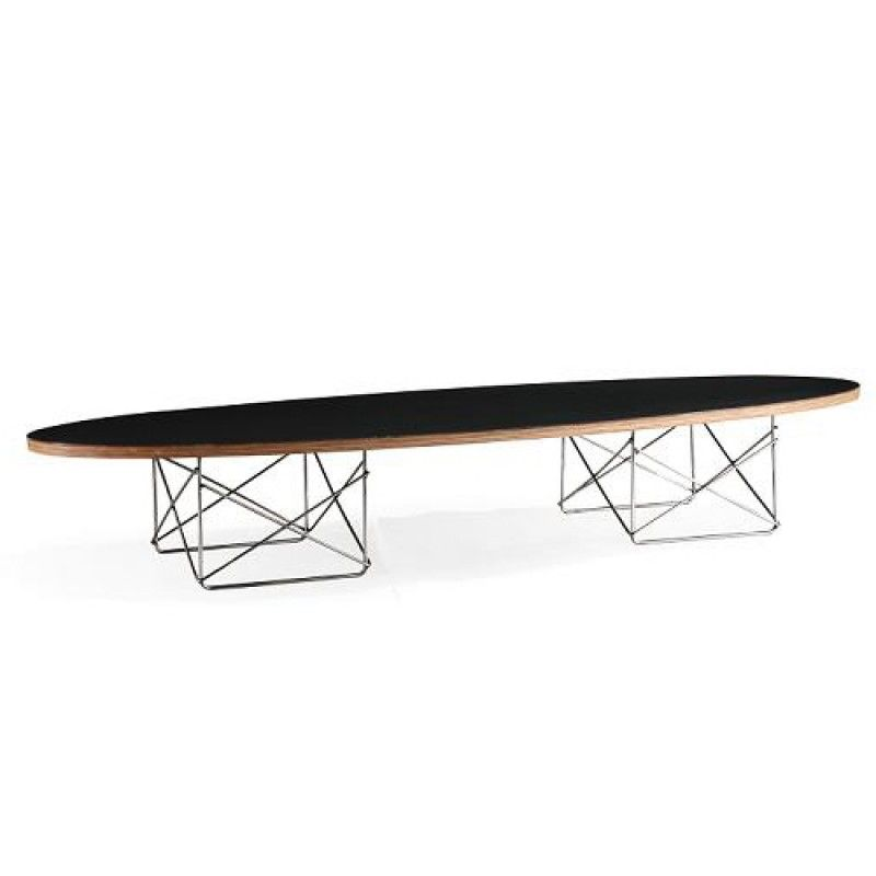 Eames Elliptical ETR Coffee Table Black | Table | Home U0026 Garden Australia  Top Online