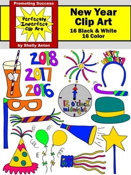 news years day clip art new years eve party january clipart celebration