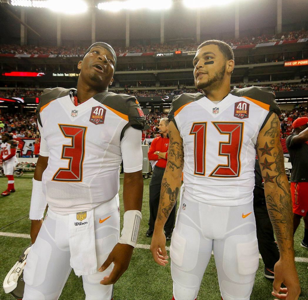 Jameis Winston Mike Evans Bay Sports Tampa Bay Buccaneers Mike Evans