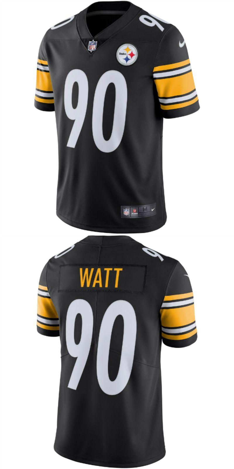 best service 2326d 09e0c UP TO 70% OFF. T.J. Watt Pittsburgh Steelers Nike Vapor ...