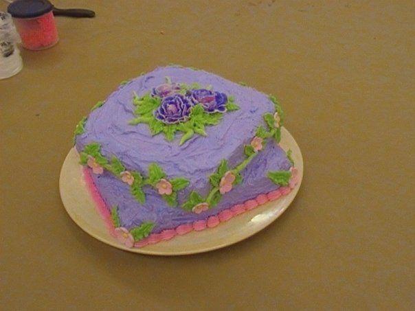 Last cake in my class